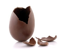 Chocolate Easter egg Source: http://holykaw.alltop.com/who-started-the-chocolate-egg